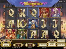 Playngo royal masquerade slot