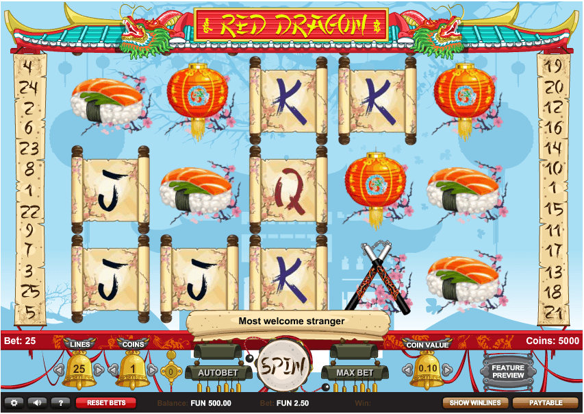 Red Dragon Slot - Play Free 1x2 Gaming Slots Online