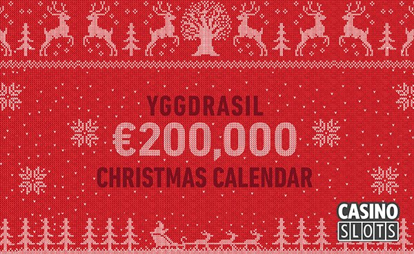 Yggdrasil christmas calendar promotions coming up