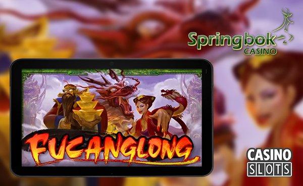 Rtg releasing new fucanglong slot at springbok