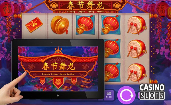 Dancing dragon spring festival slot release by playson