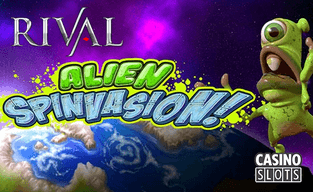 Rival gaming launches alien spinvasion online slot
