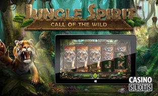 Jungle spirit call of the wild slot debuts from netent