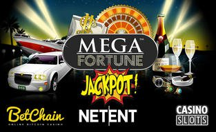 Betchain and netent pair up for a huge jackpot