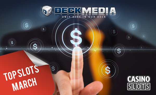 Deckmedia lists top slots by volume for march