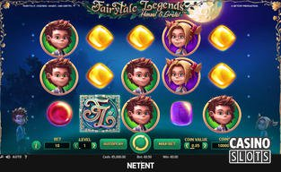 Hansel and gretel slot coming from netent