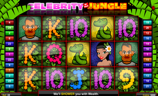 Celebrity in the jungle