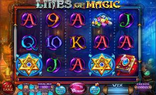 Lines of magic slot by felix gaming